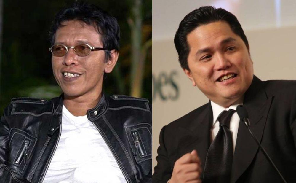 Adian Napitupulu dan Erick Thohir