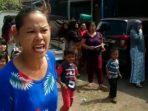 Aksi Demo Ibu-ibu ke PDAM Tirta Mukti Cianjur