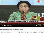 Breaking News TV One Megawati Soekarnoputri