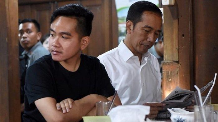 Gibran Rakabuming dan Presiden Joko Widodo