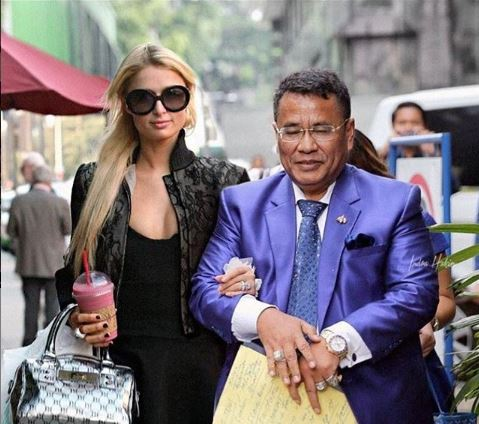 Hotman Paris dan Paris Hilton