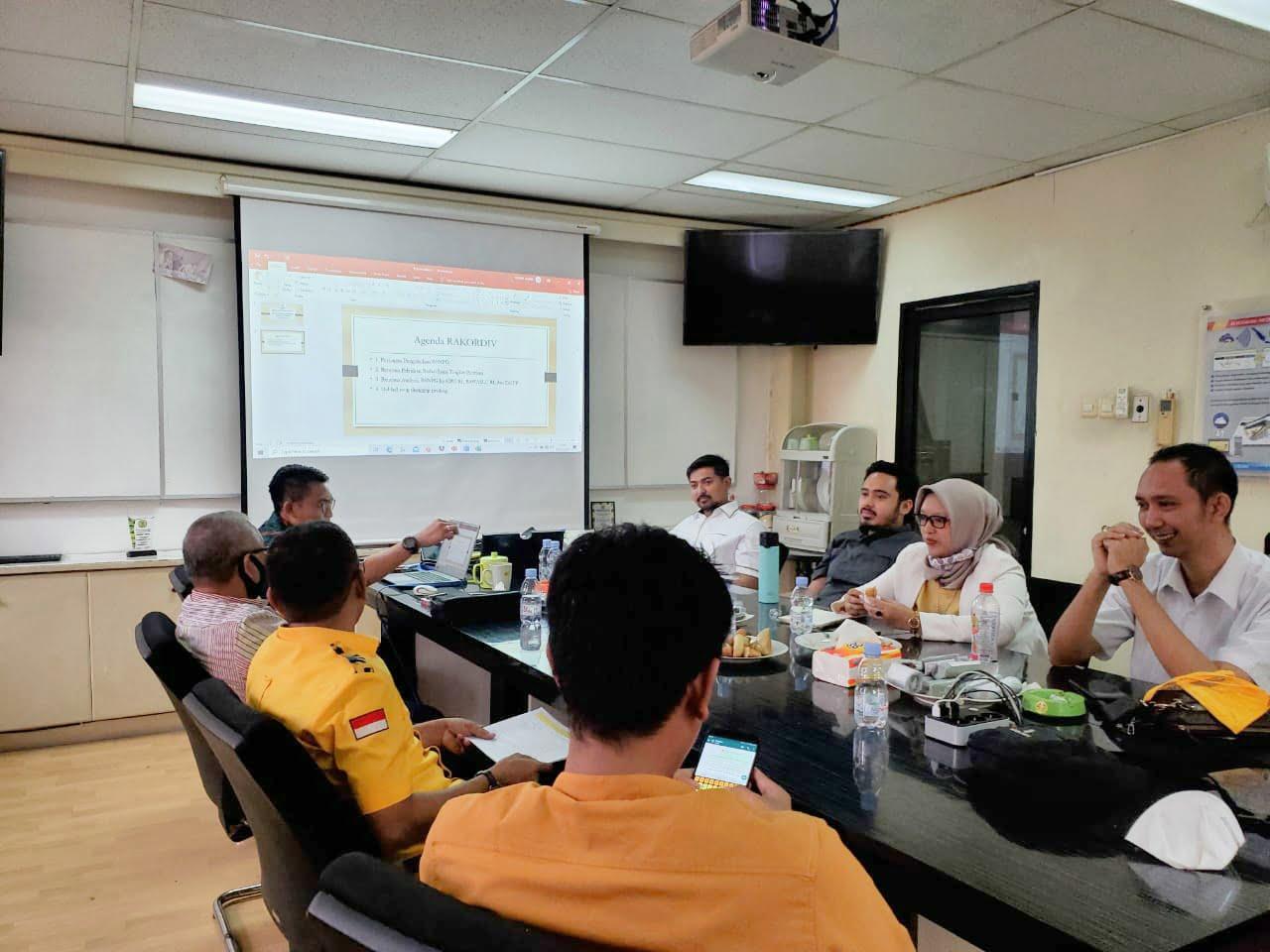 Rapat Koordinasi Badan Saksi Nasional DPP Partai Golkar