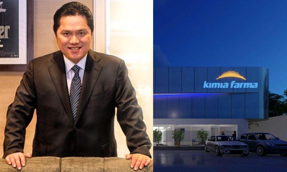 Menteri BUMN Erick Thohir dan Laboratorium Kimia Farma