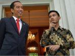 Presiden Joko Widodo dan Gibran Rakabuming
