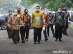 Syarief Hasan ke Istana Presiden Bogor