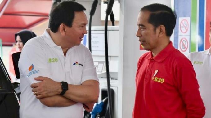 Ahok dan Presiden Jokowi