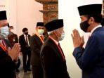 Fahri Hamzah dan Presiden Jokowi - foto istimewa via detik
