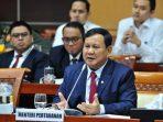 Menteri Pertahanan RI Prabowo Subianto
