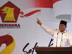 Prabowo Subianto Ketua Umum Partai Gerindra