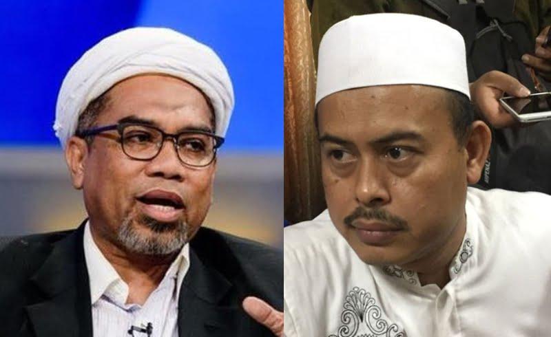 Kolase Ali Mochtar Ngabalin dan Slamet Maarif
