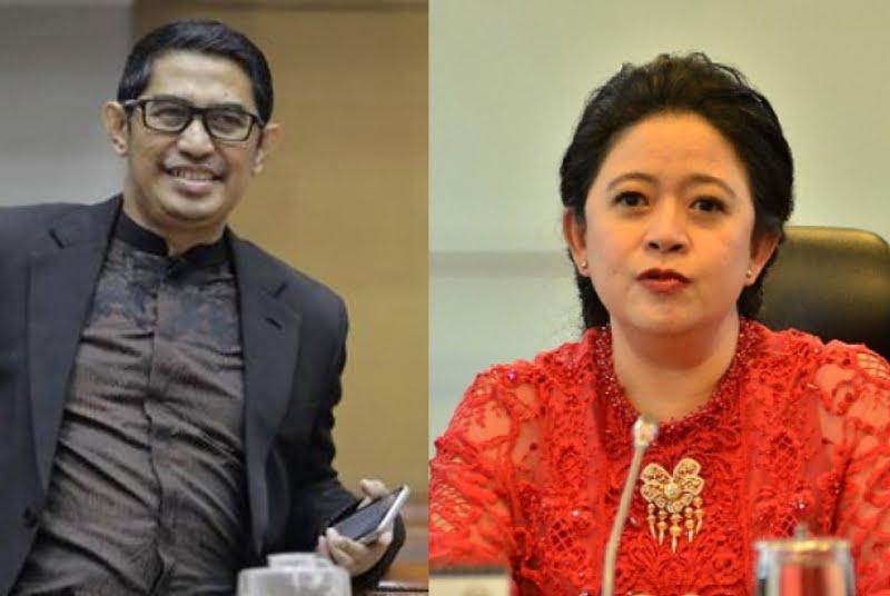 Kolase Ketua Dewas TVRI Arief Hidayat dan Ketua DPR RI Puan Maharani