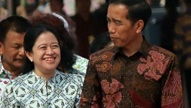 Joko Widodo dan Puan Maharani