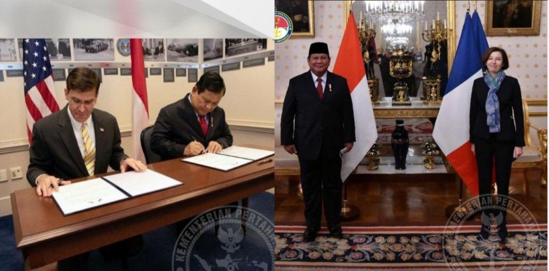 Kolase Menhan RI Prabowo Subianto