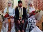 Tangkapan Layar Video Pria nikahi dua istri