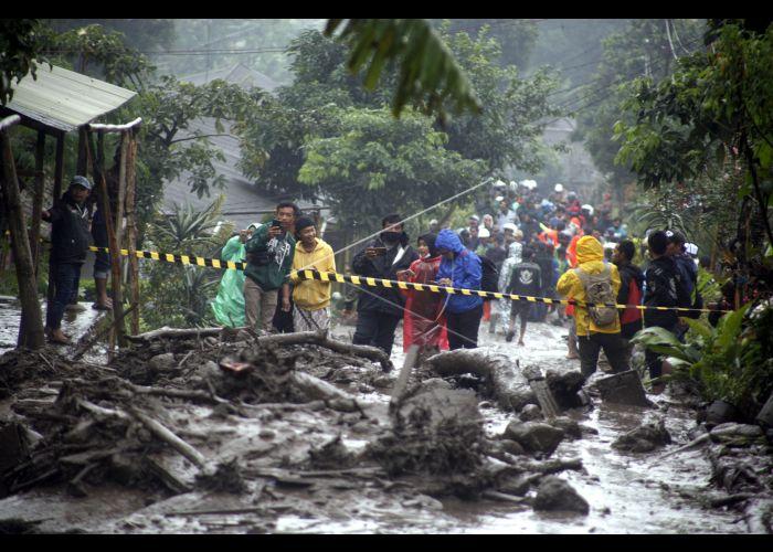 banjir bandang di Bogor