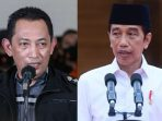 Kapolri dan Presiden Jokowi