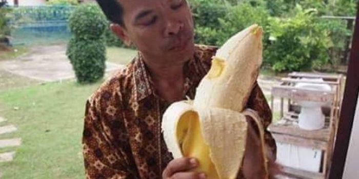 Pisang terbesar dari papua