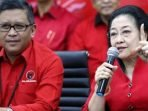 Hasto Jristiyanto dan Megawati Soekarnoputri