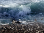 Ilustrasi Gempa dan Tsunami