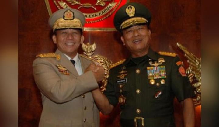 Jendral kudeta Myanmar dan KSP Moeldoko