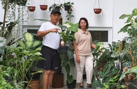KSP Moeldoko dan Istri