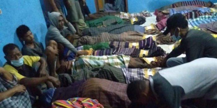 Pengungsi terdampak banjir Flores