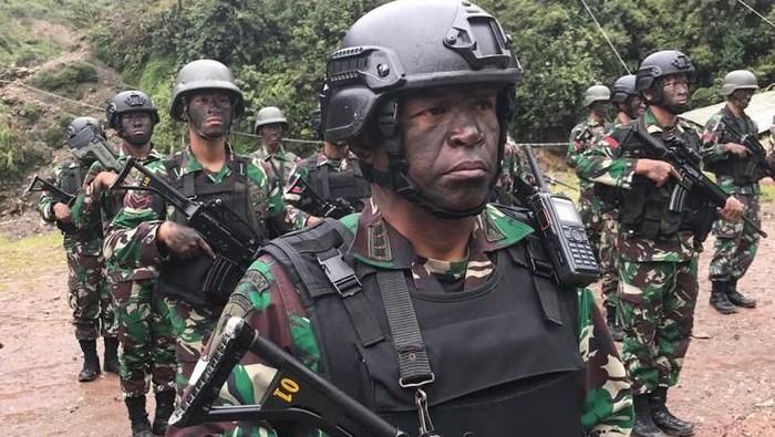 Ilustrasi Baku Tembak TNI dengan KKB di Papua