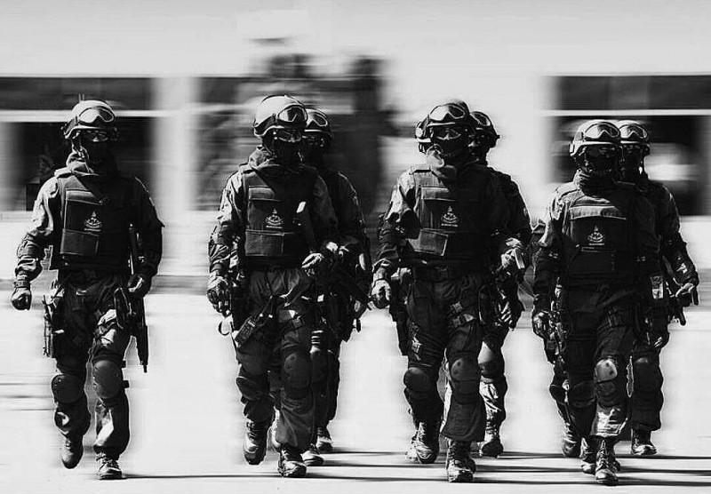 Ilustrasi Pasukan Setan TNI