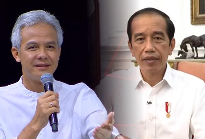 Kolase Ganjar dan Jokowi