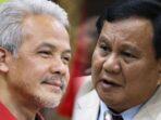Kolase Ganjar dan Prabowo