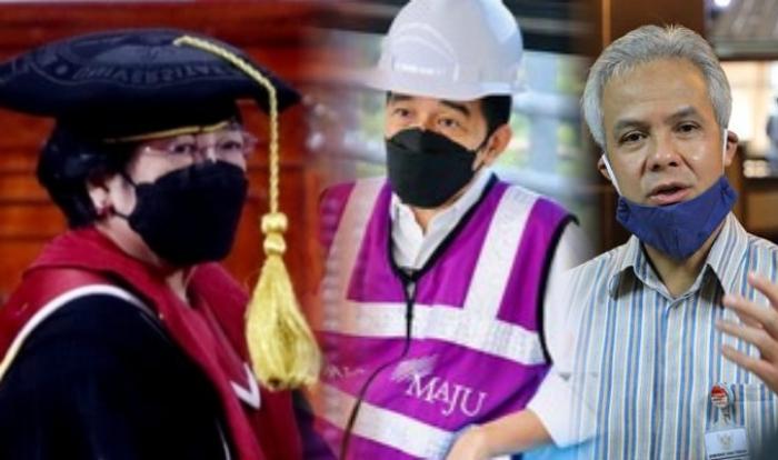 Kolase Megawati, Jokowi, Ganjar Pranowo
