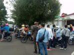 Aksi mahasiswa kritik PPKM di Sukabumi