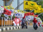 Ilustrasi Bendera Partai Politik di Indonesia